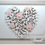 Karte Liebesblüten