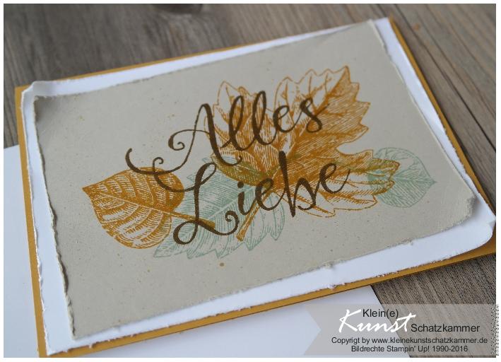 Stempelstammtisch – Herbstgrüße