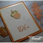 Karte Herbstgrüße