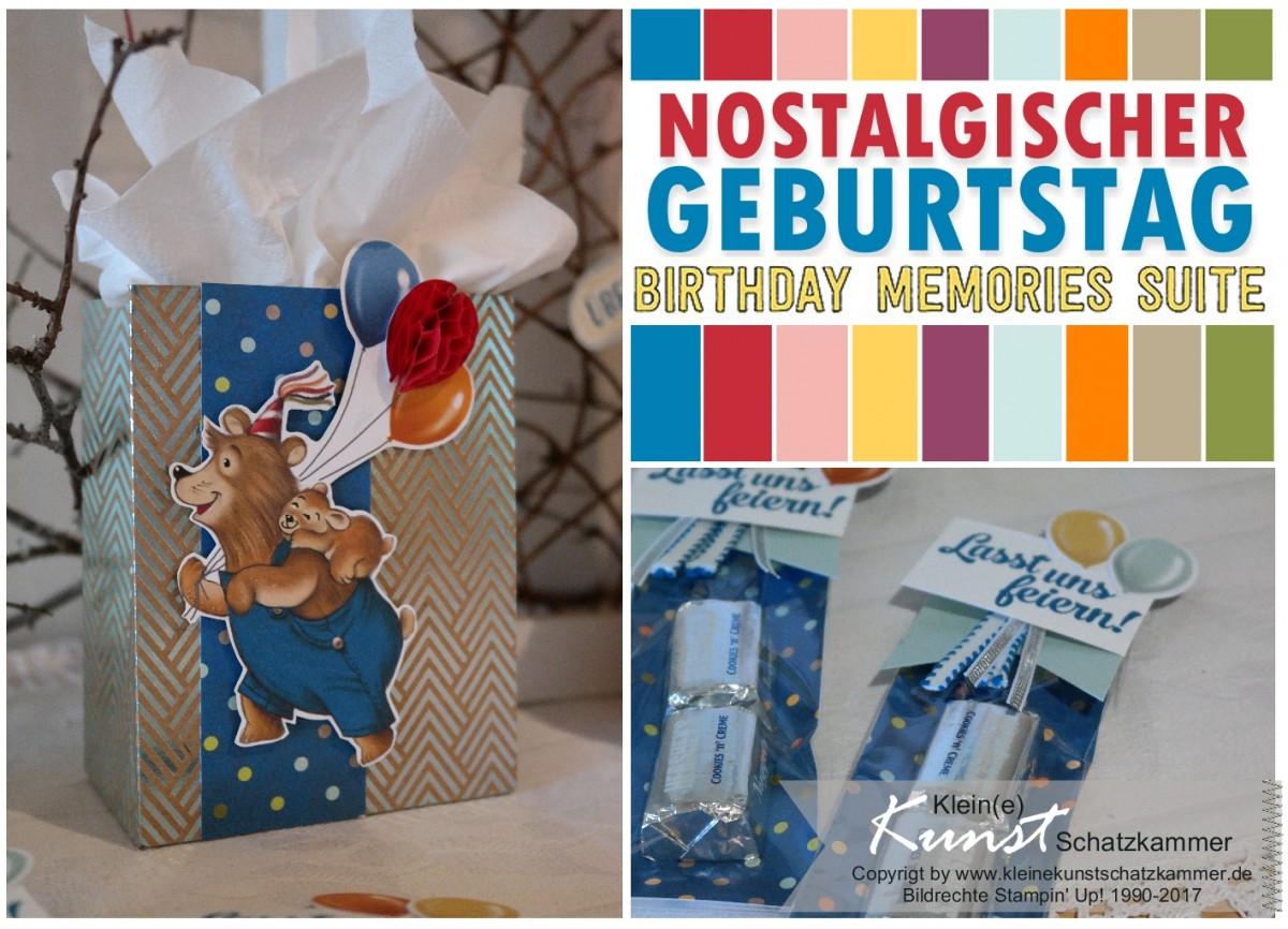 Nostalgischer Geburtstag – Birthday memories