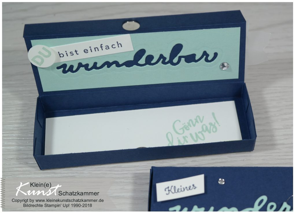 Stampin Up sale a bration Stempel Stanze Wunderbar Goodie