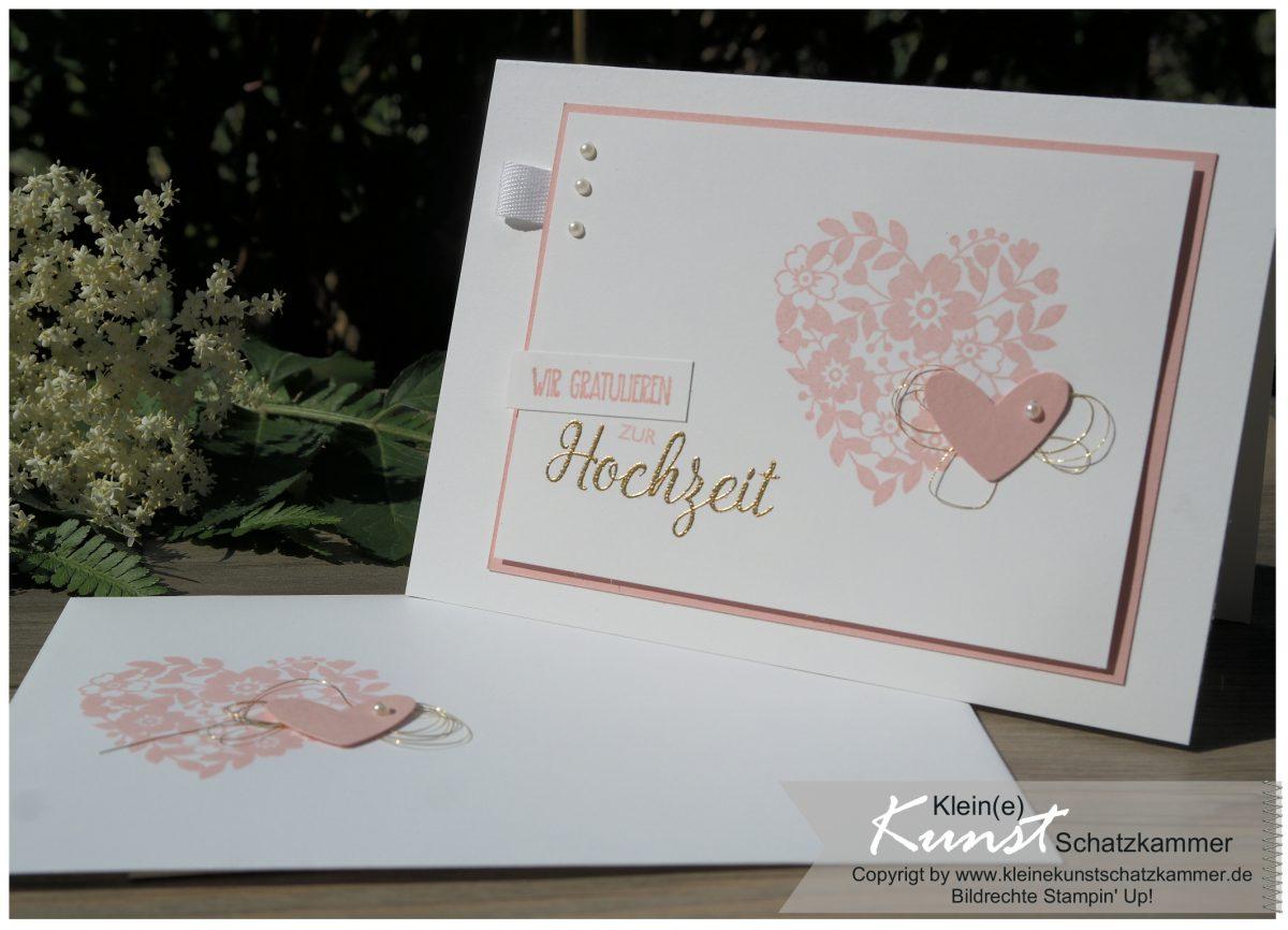 Blüten der Liebe zur Hochzeit im Mai