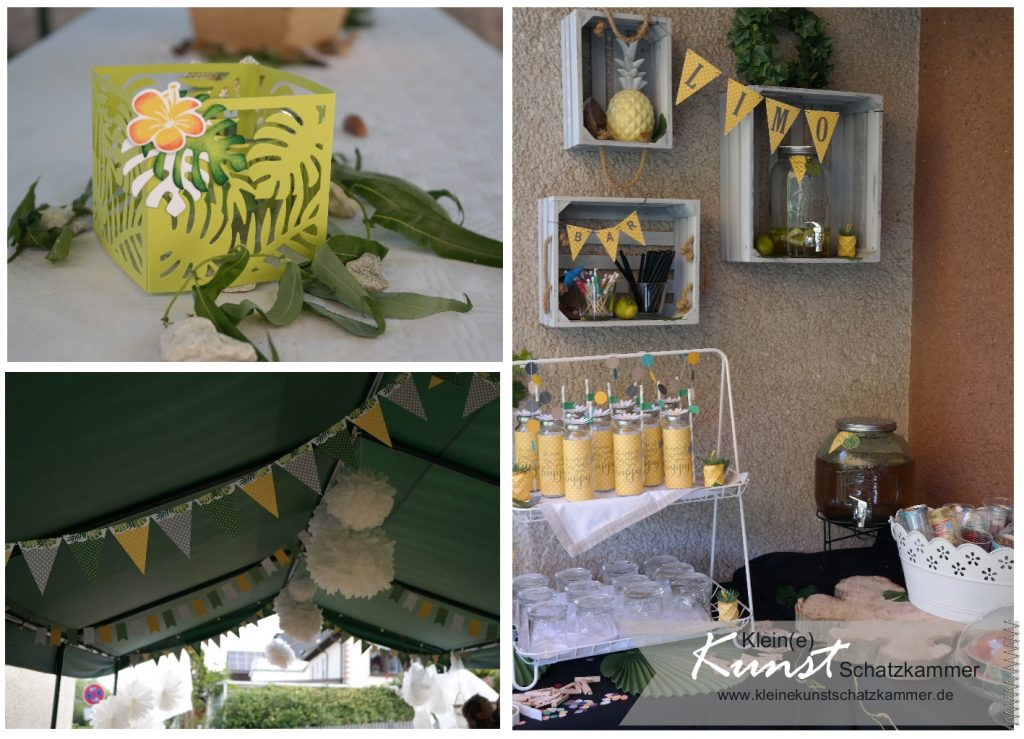 Limo Bar selbstgemachte Limonde und kühle Erfischungen zum SU Demo Treffen in der Kunstschatzkammer
