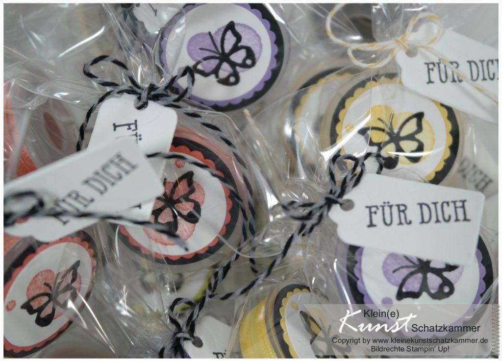 Stampin Up Geschenkband Sale a bration SAB 2019 Schmetterling Stempel Schmetterlingsglück