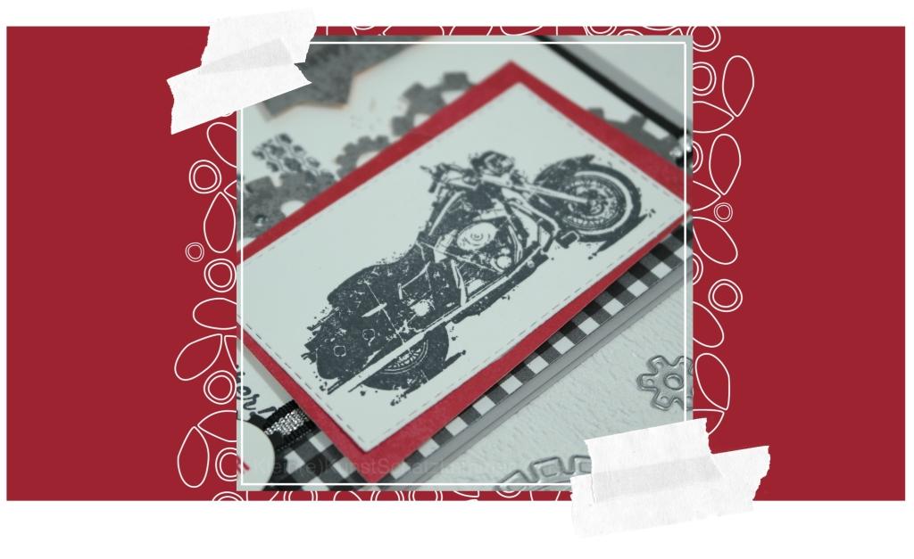 Motorrad – Karte für den Mann