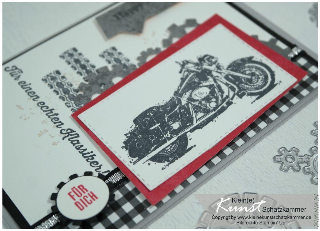 Manner Karte Mit Motorrad Darkflora