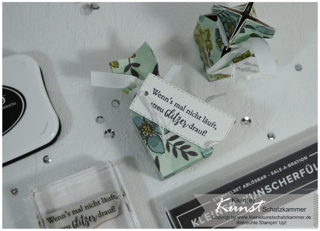 Stampin Up Knallbonbon Verpackung mit Umschlagbrett EPB