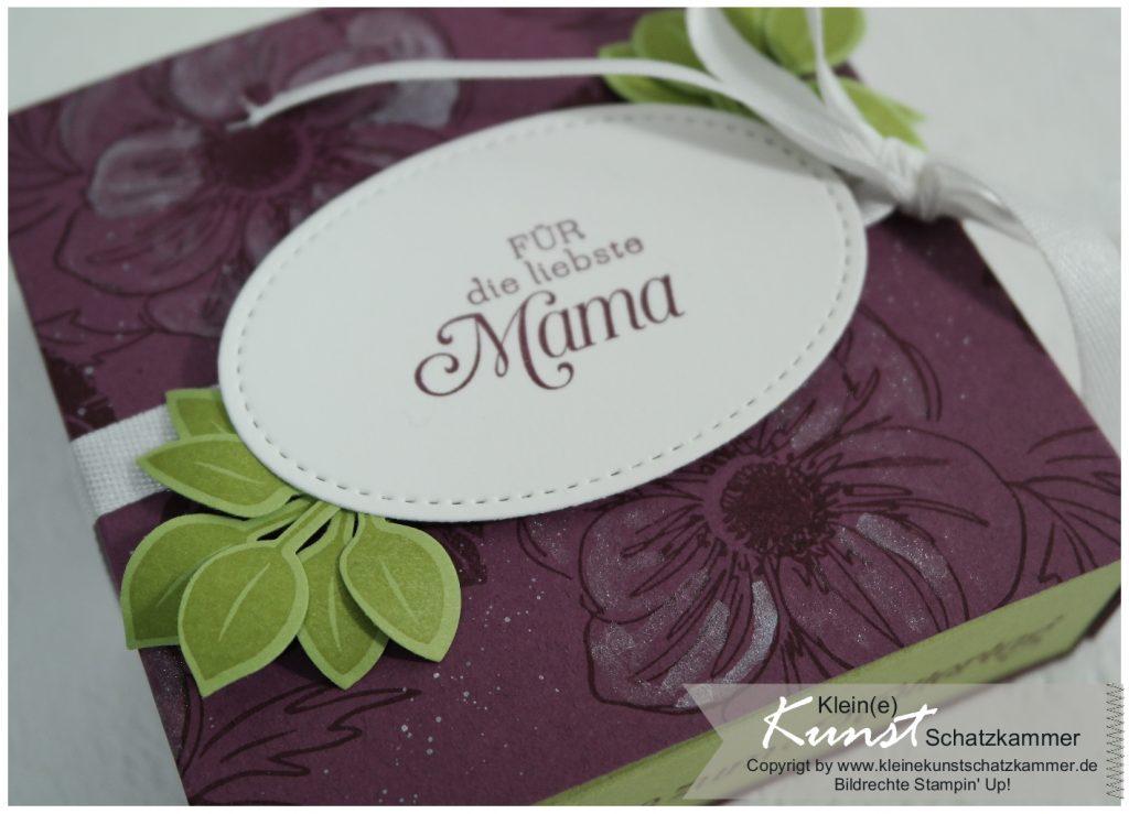 Stempin Up Stempel Muttertag Geschenk für die leibste Mama selbstgemacht mit Anleitung