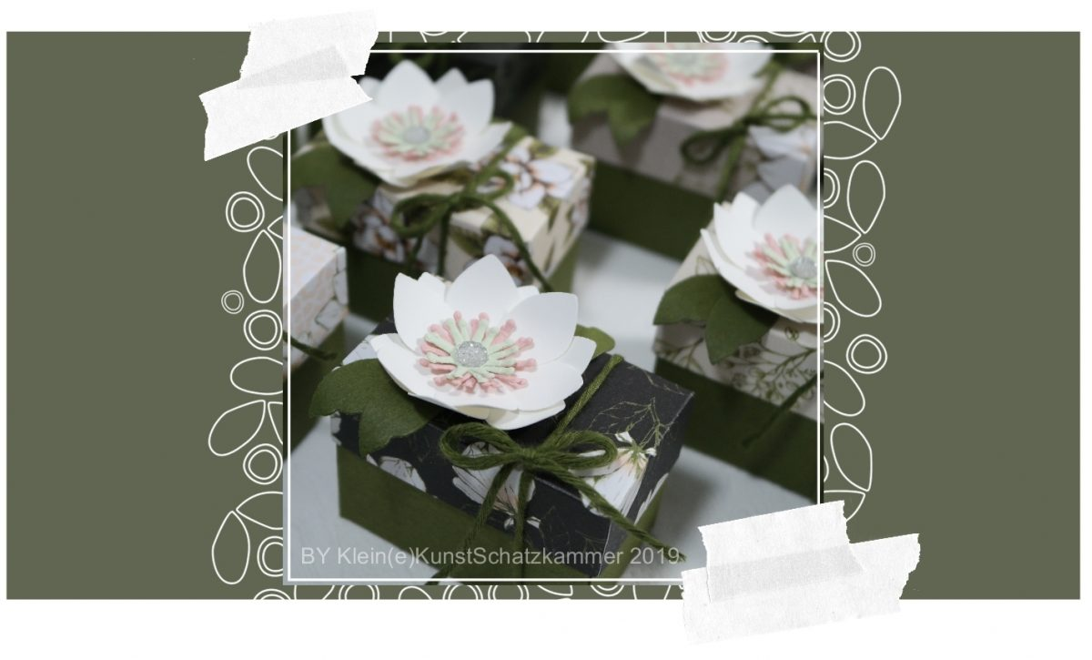 Mini-Schachtel Magnolienweg magnolia lane mini box memories ans more