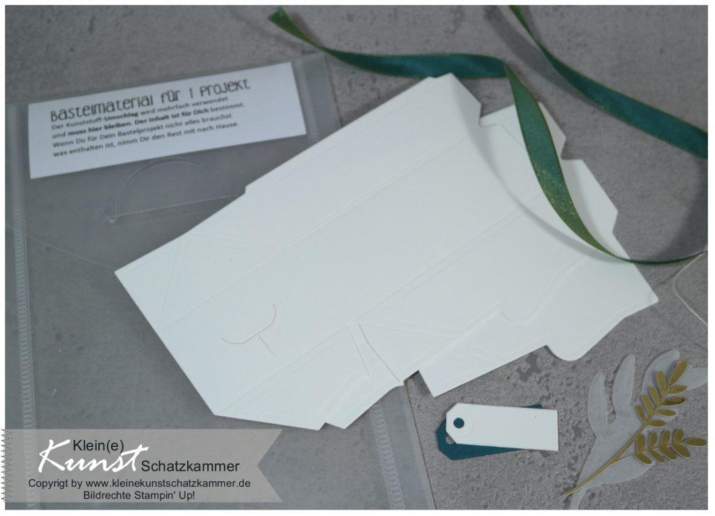 Schachtel perfekte Päckchen Stampin Up für alle Zeit Inhalt Bastelpäckchen Kreativ Buffet