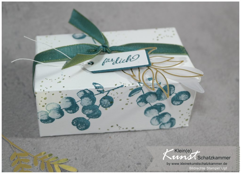 Schachtel perfekte Päckchen Stampin Up für alle Zeit