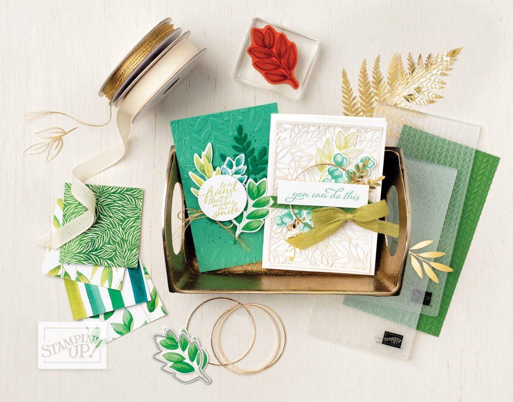 Stampin' Up! Produktreihe Ewiges Grün - forever greenery