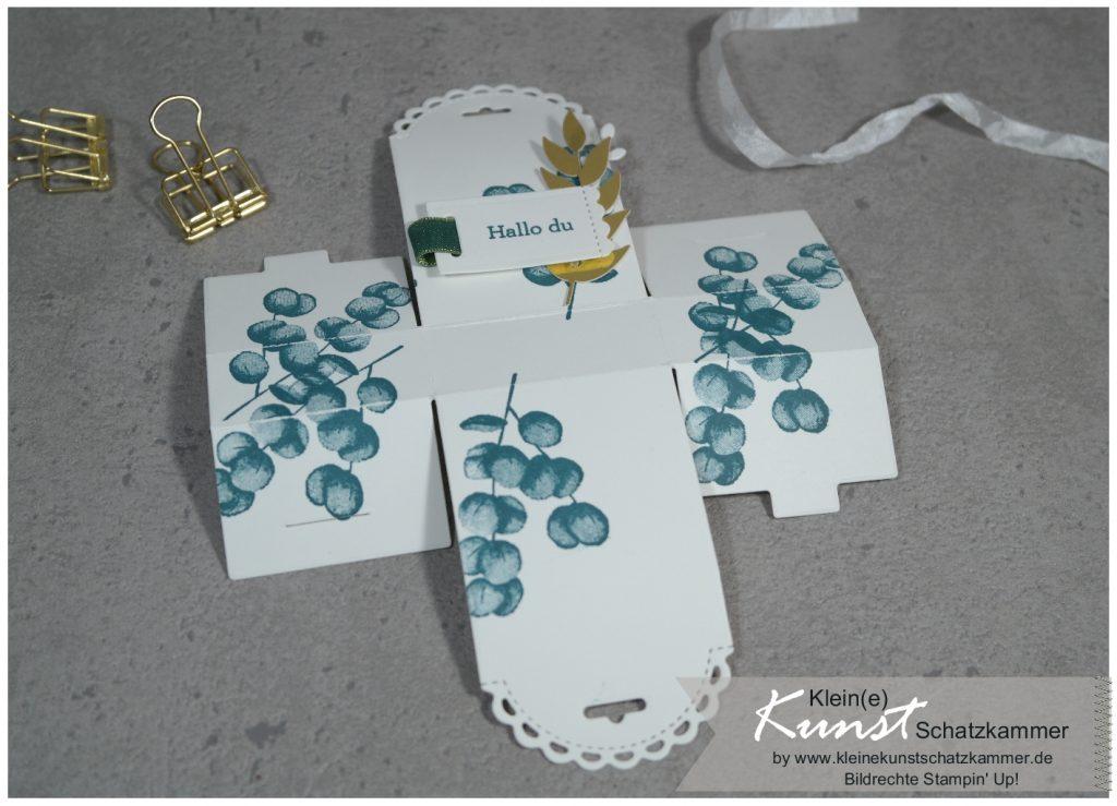 Mini Geschenkschachtel Goodie mit Stampin Up für alle Zeit