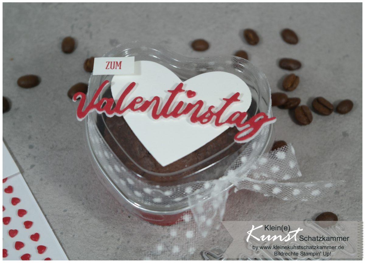 Valentinstag mit Kuchen